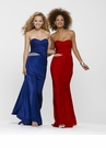 Strapless Dress 2137