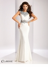 Clarisse Beaded Lace Prom Dress 3206