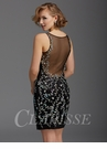 Clarisse Black and Iridescent Party Dress 2938