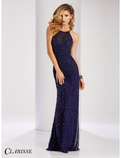 Clarisse Chic Beaded Prom Dress 3085