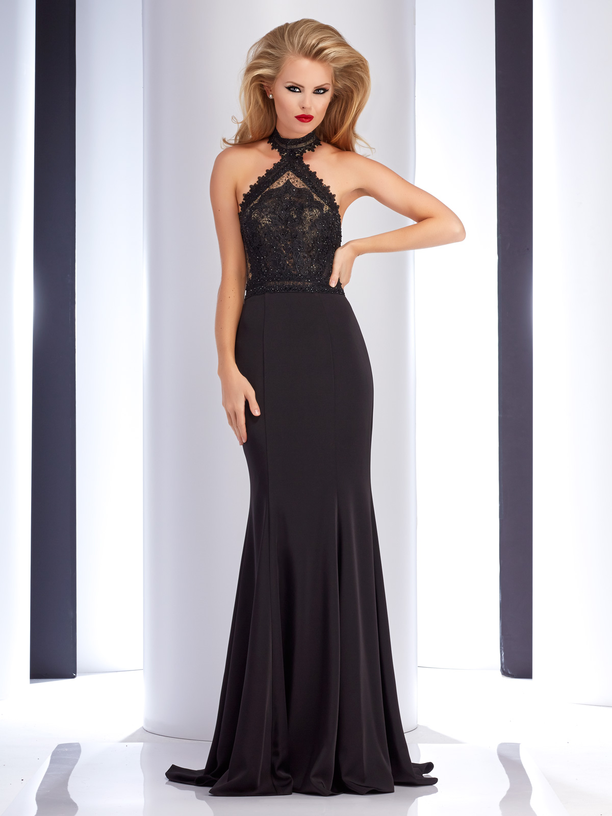 Clarisse 4733 Couture Gown Promgirl Net