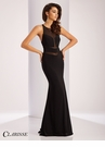 Clarisse Cut Out Detail Prom Dress 3040