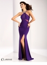 Clarisse Cut Out Halter Prom Dress 2710