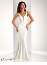 Clarisse Elegant V-Neck Satin Prom Dress 3153