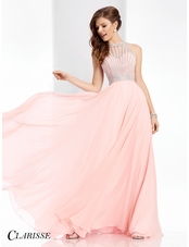 Clarisse Embellished A-line Prom Dress 3068