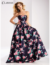 Clarisse Floral Ball Gown 3029