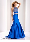 Clarisse Fun Fringed Two Piece Prom Dress 4837
