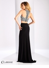 Clarisse Geometric Two Piece Prom Dress 3172