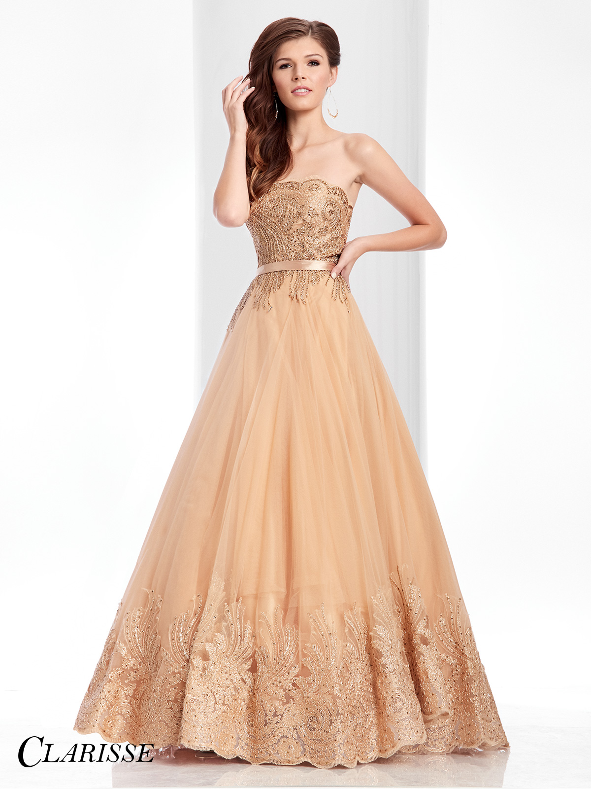 Ball Gown Prom Dresses Online at Promgirl.net