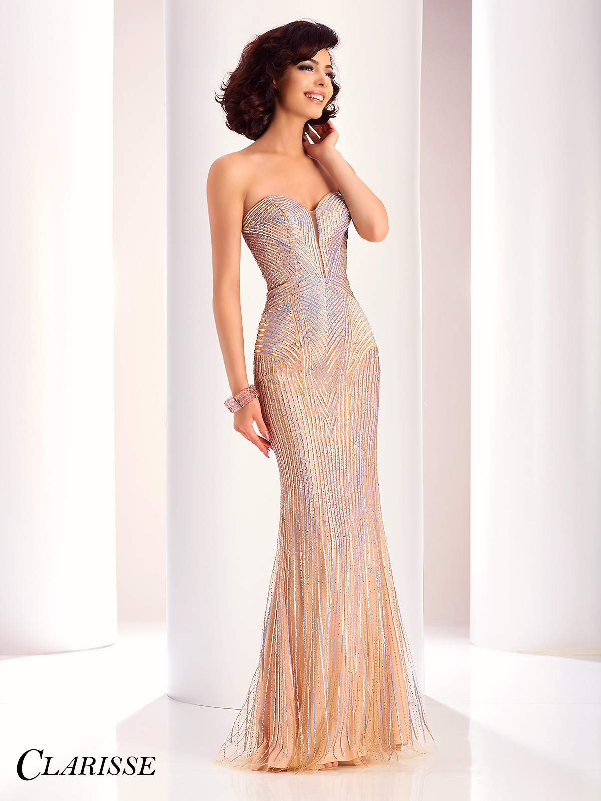 Champagne Dresses - Champagne Prom Gowns - Promgirl.net