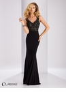 Clarisse Lace V-Neck Prom Dress 3108