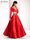 Clarisse Long Sleeve Prom Dress 3025