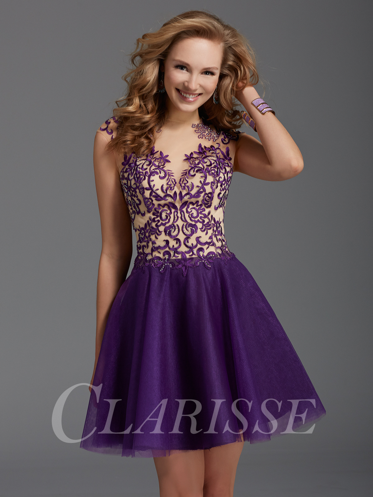 Purple Prom Dresses - Purple Gowns Long and Short | Promgirl.net