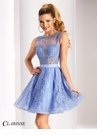 Clarisse Short Lace Prom Dress 3147