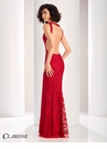 Clarisse Soutache Open Back Prom Dress 4823