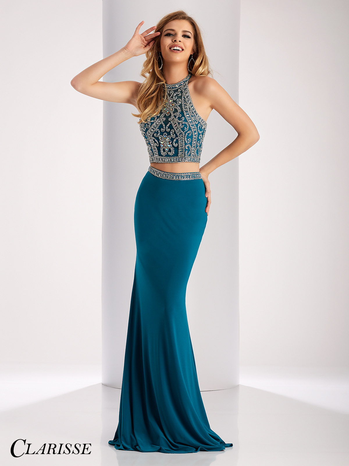 Clarisse Two Piece Prom Dress | Promgirl.net