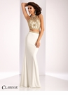Clarisse Sparkling Two Piece Prom Dress 3006
