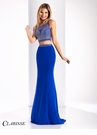 Clarisse Sparkling Two Piece Prom Dress 3120
