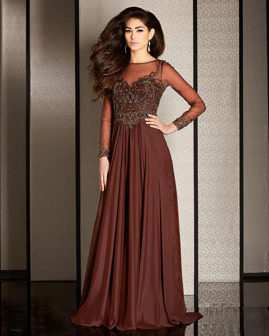 Brown Prom Dresses- Chocolate Formal Gowns  Promgirl.net