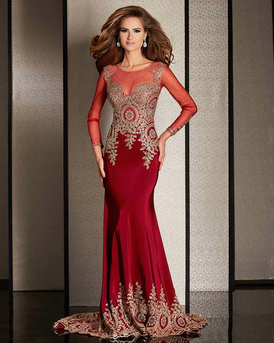 Special occasion red dresses