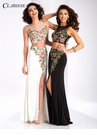 Clarisse Two Piece Floral Prom Dress 3056
