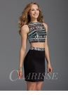Clarisse Two Piece Homecoming Dress 2903
