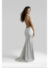 Open Back Clarisse Gown 2324