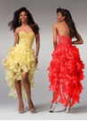 Popular High Low Prom Dress 1519