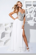 White prom dresses and formal gowns