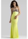 Yellow Prom Dress 2336 by Clarisse
