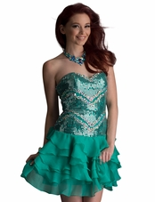 Zizi Homecoming Dress 9199