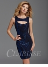 Zizi Sparkly Royal Blue Homecoming Dress 351