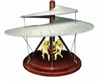 The Aerial Screw - Leonardo Da Vinci Model Kit