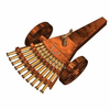 The Multi-Barreled Cannon - Leonardo Da Vinci Model Kit