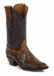 Black Jack Men's Handtooled Charlie Stitch Custom Boots HT-186