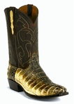 Ladies Black Jack Boots Natural Caiman Tail Custom Boots 716