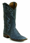 Men's Black Jack Boots Tribal Sueded Python Navy Blue 1495