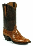 Mens Black Jack American Alligator Belly (Side Cut) Cigar #526