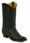 Mens Black Jack Boots Black Deer 6384