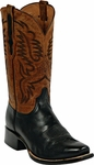Mens Black Jack Boots Black French Calf Leather Custom Boots 349