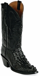 Mens Black Jack Boots Black Hornback Alligator Custom Boots 111