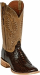 Mens Black Jack Boots Brown Python Snake Custom Boots 609