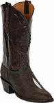 Mens Black Jack Boots Brown Stingray Custom Boots 311