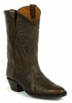 Mens Black Jack Boots Burnished Brown Ranch Hand Custom Boots 405BB