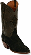 Mens Black Jack Boots Chocolate Hippo Custom Boots 570