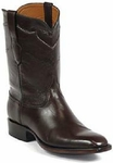 Mens Black Jack Boots Chocolate Finesse Kangaroo Roper Custom Boots 408