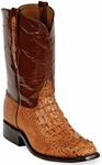 Mens Black Jack Boots Cigar Hornback Alligator Custom Roper Boots 135