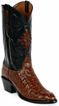 Mens Black Jack Boots Italian Red Hornback Alligator Custom Boots 111