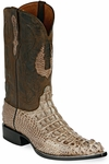 Mens  Black Jack Boots Mink Hornback Alligator Custom Roper Boots 110