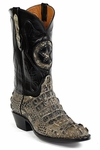 Mens Black Jack Boots Natural Hornback Alligator Custom Boots NT-180